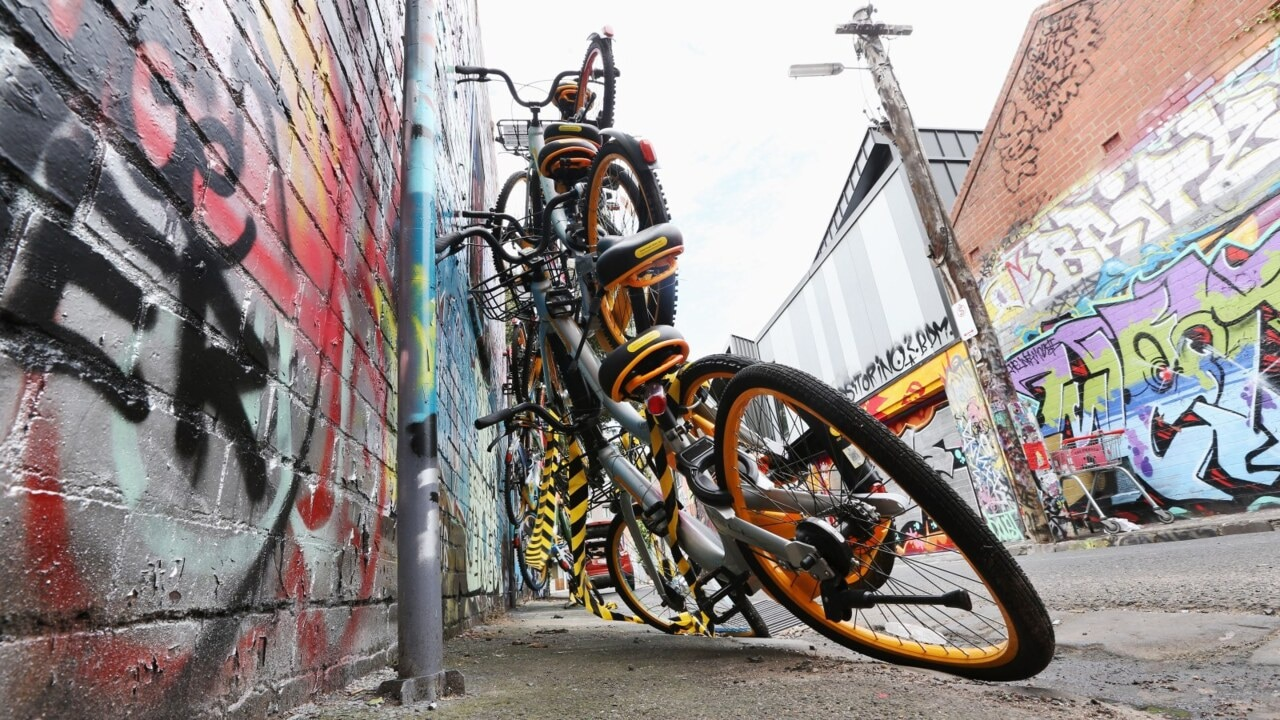 oBikes to disappear from Melbourne's streets