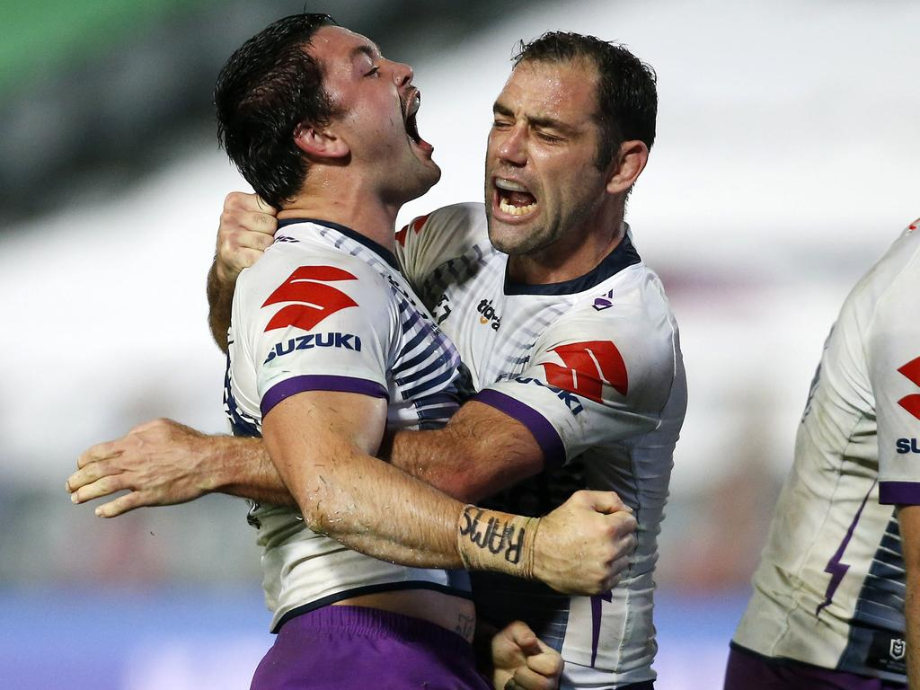 Brandon Smith has been stuck behind Cameron Smith. Picture: AAP/Darren Pateman