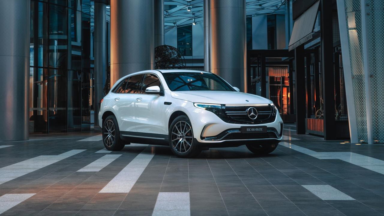 Mercedes-Benz will introduce the EQC 400 in 2020.