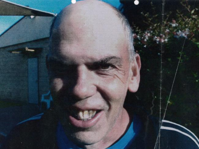 Convicted paedophile Warren Graeme Hayter, who calls himself 'Caveman'.
