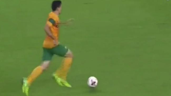 Socceroos superstar in the making
