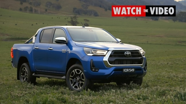 Toyota HiLux updated for 2020