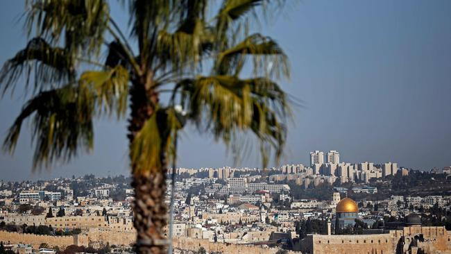 Israel occupied east Jerusalem in the 1967 Six-Day War and later annexed it in a move never recognised by the international community. Picture: AFP/Thomas Coex