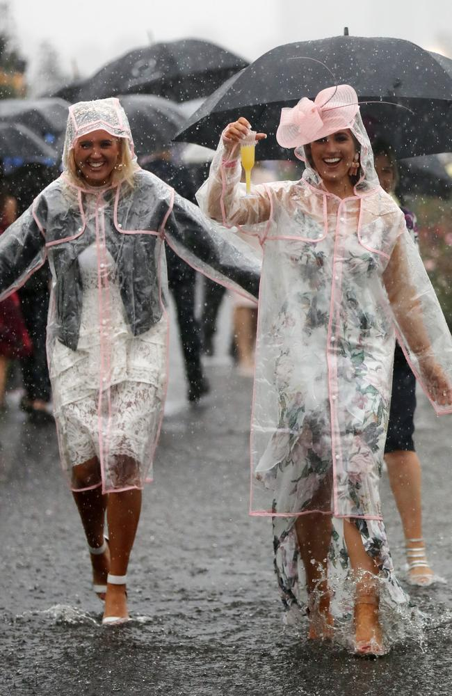 Come to the races, they said. It'll be great, they said. Picture: Alex Coppel