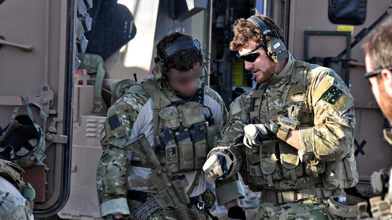 """An SAS medic says it was clear """"Leonidas"""" was Ben Roberts-Smith. Picture: Department of Defence"""
