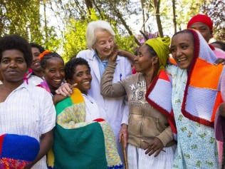 'Saint' Catherine Hamlin has died in Addis Ababa, Ethiopia, aged 96. Source: Instagram