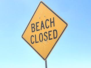 Manly beach has been closed after crowds descened on it this morning/ Picture: Twitter
