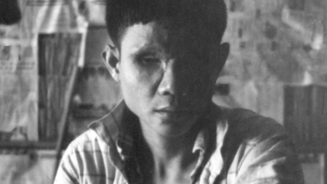 Keing was a young soldier who's family was killed by the Khmer Rouge, and was then injured by a landmine when he started fighting against Pol Pot's army. Picture: Tim Grant