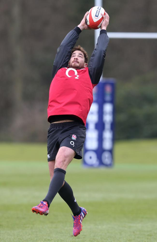 Danny Cipriani has been named on England's bench for the Six Nations opener.