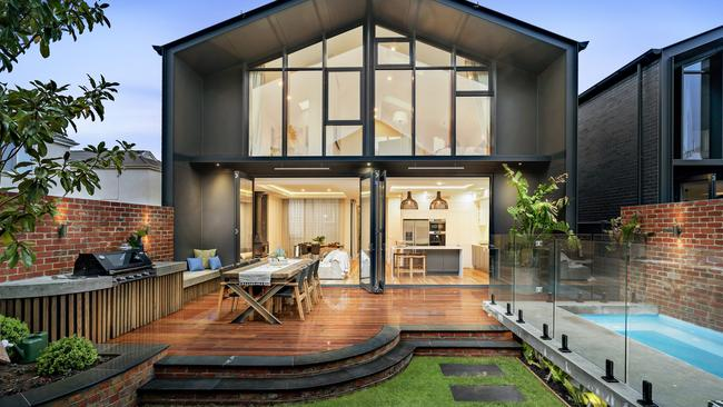 The Block house by Josh and Elyse at 46a Regent St Elsternwick.