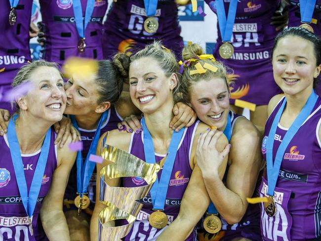 Laura Geitz Firebirds Daily Telegraph
