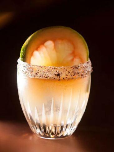 The 'Big Fan' cocktail. Picture: Mandarin Oriental