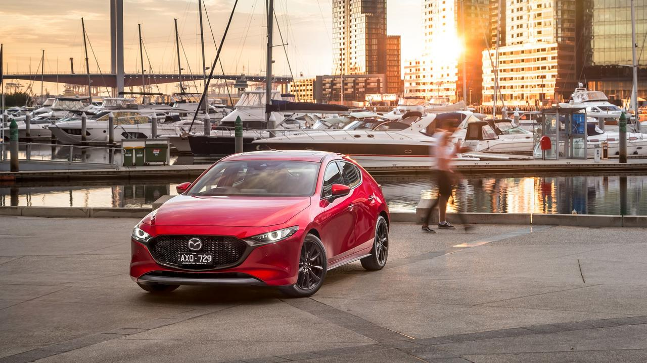 The Skyactiv-X engine is responsive and zippy around town but you'll struggle to hit the claimed fuel use.