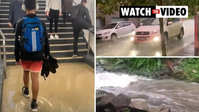 'Life-threatening' heavy rain causes chaos in Sydney and Newcastle