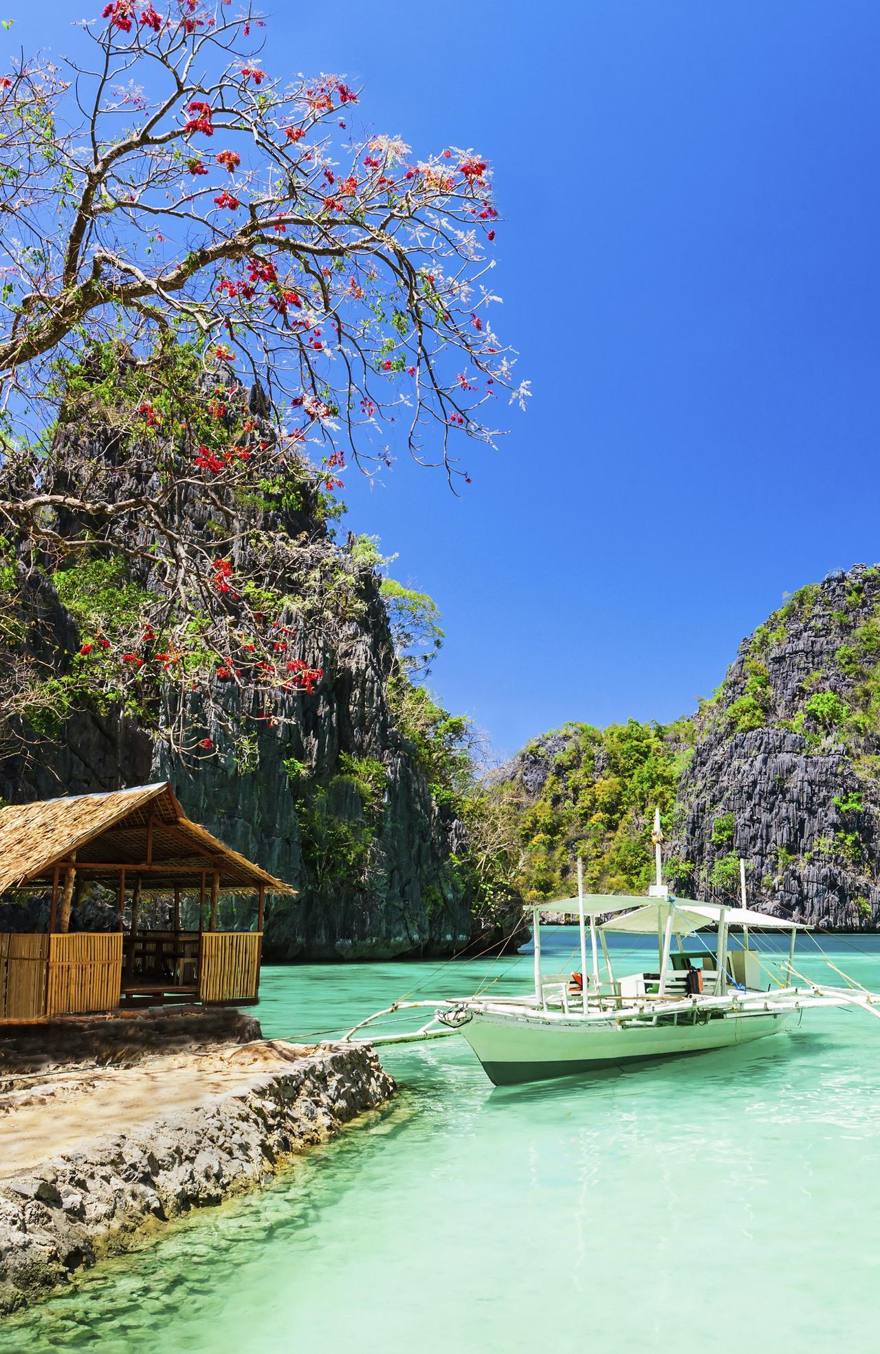 ESCAPE: ISLANDS .. Filipino boat in the sea, Coron, Philippines. Picture: iStock