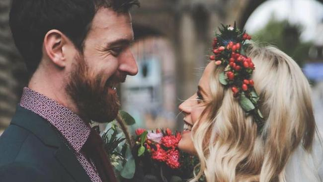 Emilyrose Fitzpatrick tied the knot in Scotland Picture: Facebook/Emilyrose Fitzpatrick