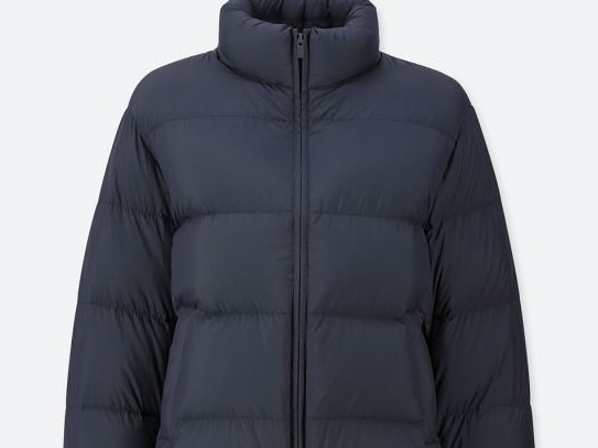 WOMEN'S: FOR THOSE WHO WANT MORE  Ultra Light Down Volume Jacket, $109.90 from Uniqlo Part of Uniqlo's signature Ultra Light Down range, this jacket offers the same weather protection — like a water repellent coating and hidden zips — with just a little more oomph. Despite the extra puff it'll still pack like a dream.