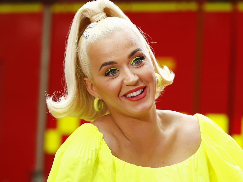Katy Perry said she was moved to perform by seeing the devastation in Australia. Picture Daniel Pockett/Getty Images.