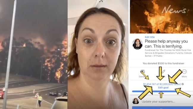 Comedian Celeste Barber raises over $21m to help fire victims