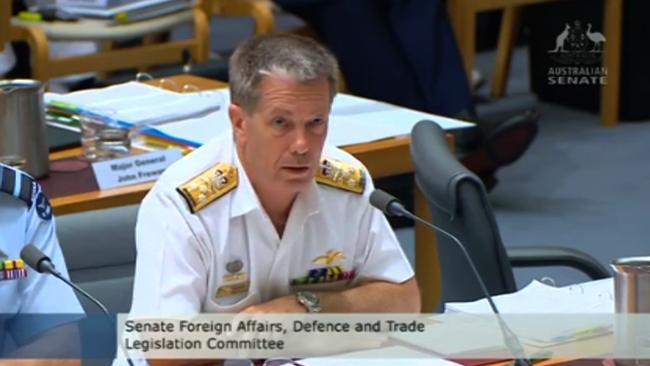Defence completely stumped by Xenophon's submarine question