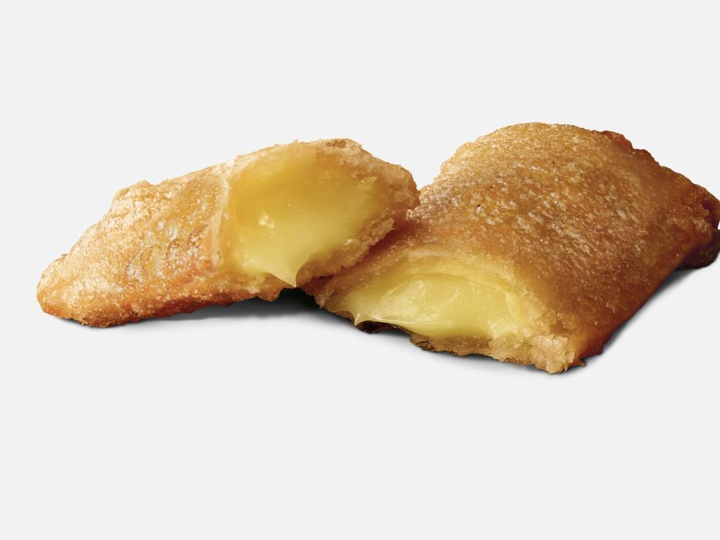 Macca's is also bringing back fan favourite the Custard Pie. Picture: Supplied