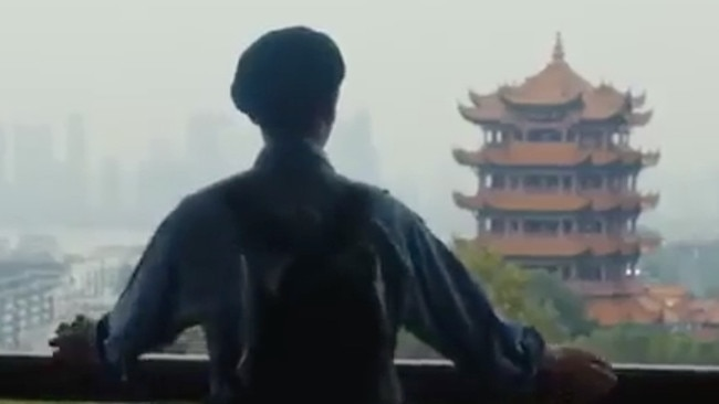 Supplied  Wuhan tourism ad. Picture: Wuhan Culture and Tourism Bureau