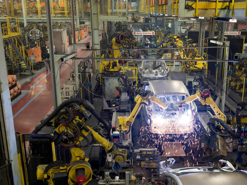 Nissan will continue to produce other cars at the plant. Picture: AFP