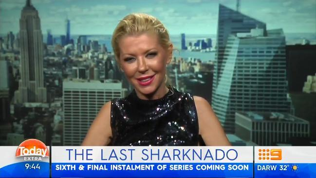 Tara Reid on Today Extra