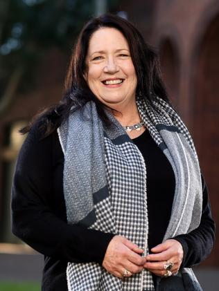 Actress Ann Dowd is filming in Sydney for a new Foxtel TV drama. Picture: Tim Hunter