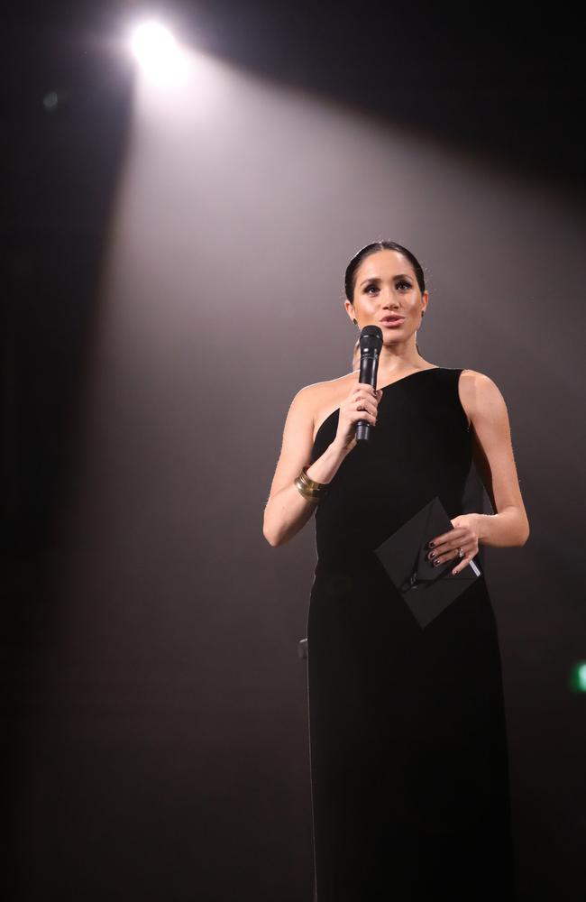 She also said fashion had the ability to empower women. Photo: Tristan Fewings/BFC/Getty Images