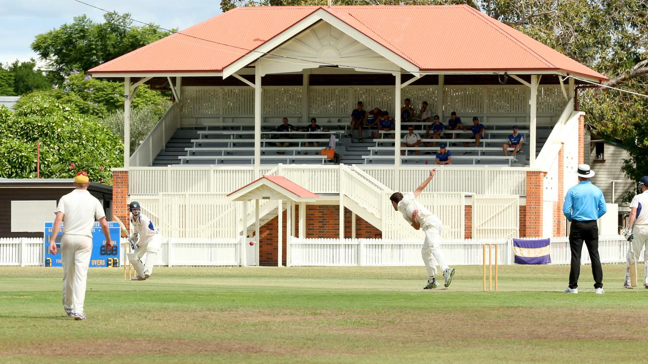 Parks are a key attraction in Graceville, this being a file photo of the grandstand at Western Districts Cricket Club in the suburb. Picture: Richard Walker.