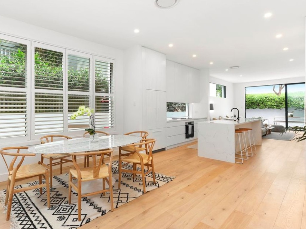 The 1930s home has received a contemporary facelift. Source: Biller Property.