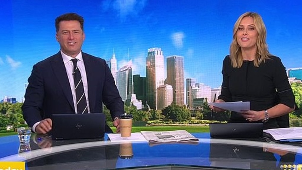 Ali and Karl are in a ratings war with Sunrise