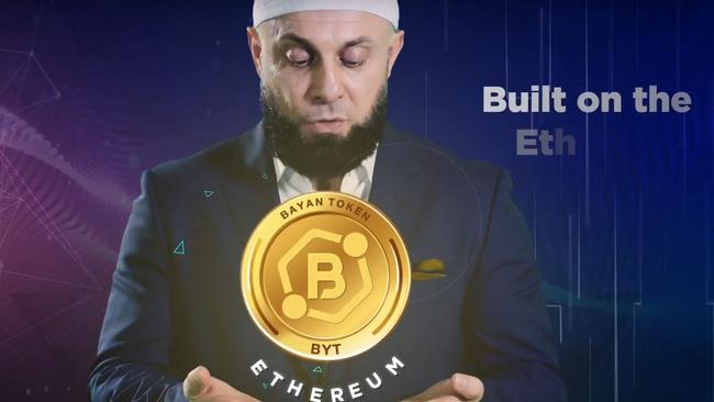 Bayan Token is described as a sharia-compliant cryptocurrency. Picture: YouTube