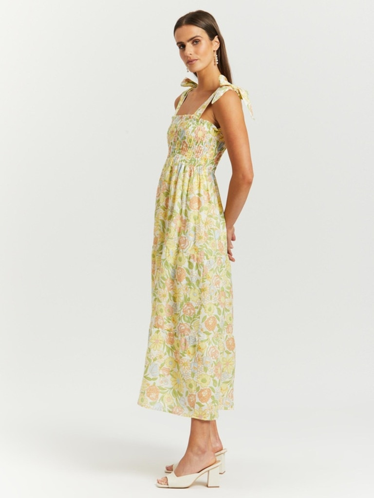 Faithfull Riane Midi Dress in Jolene Print