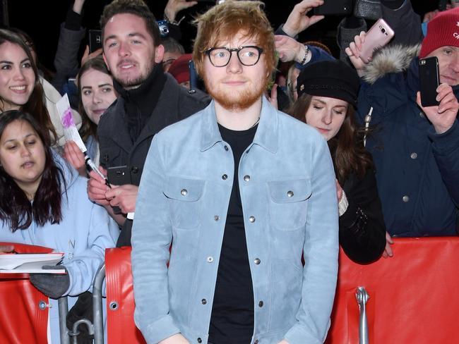 Meeting Ed Sheeran was tops.