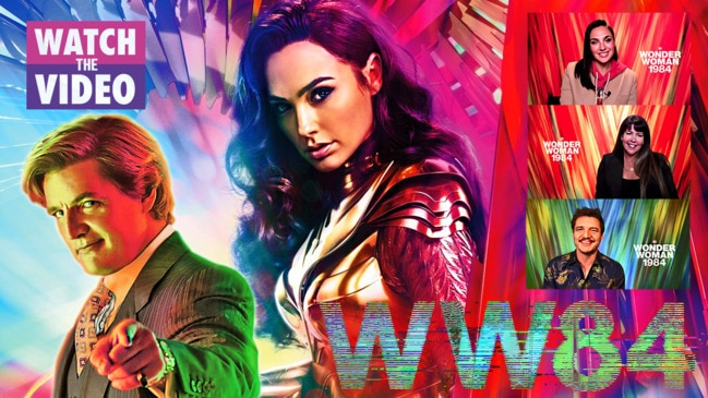 Wonder Woman 1984: Gal Gadot, Pedro Pascal and Patty Jenkins unpack DC's epic 80s throwback
