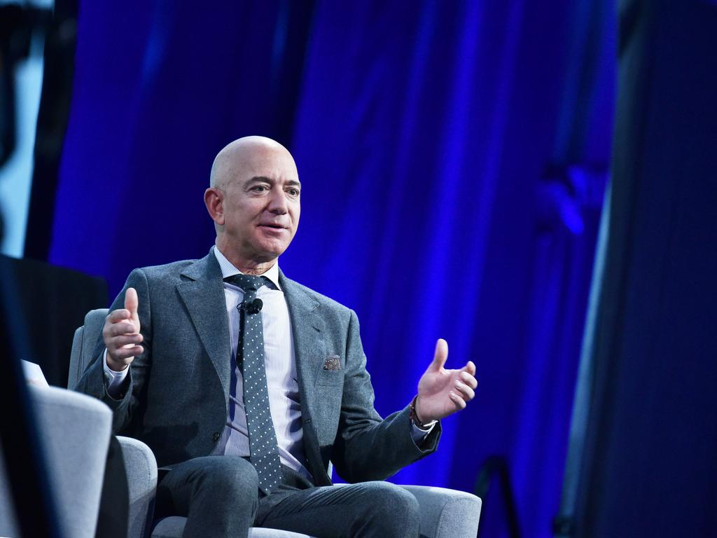 On Jeff Bezos' Amazon e-commerce platform, private label knock-offs of competitor products sometimes appear ahead of the genuine articles in search. Picture: Mandel Ngan/AFP