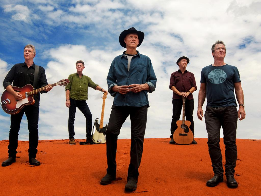 Midnight Oil are receiving one of the big awards at the APRAs. PICTURE: Supplied
