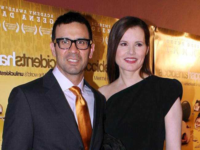 The pair at the Sydney premiere of her Aussie-made film, Accidents Happen.