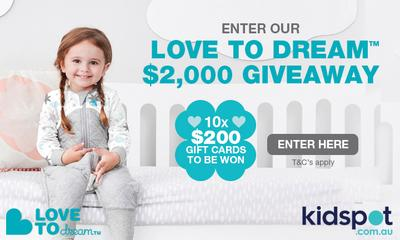 Win 1 of 10 $200 Love To Dream packs