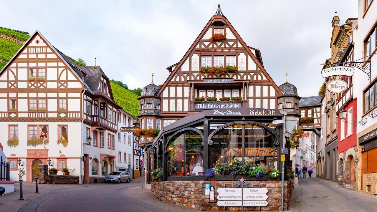 Quaint little Rüdesheim, Germany — you just have to know where to look.