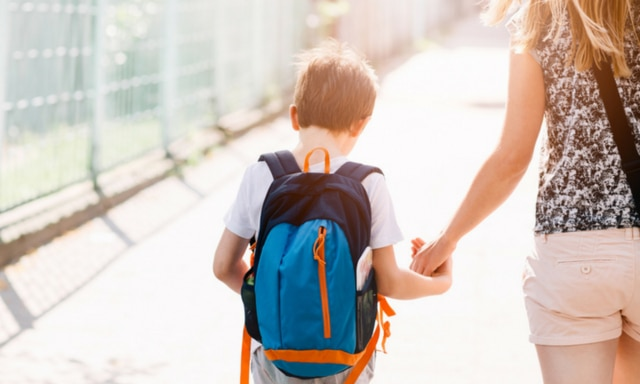 First day of school. Picture: iStock