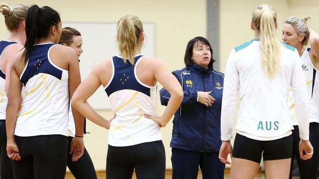 Australian Diamonds coach Lisa Alexander. Picture: Sarah Reed