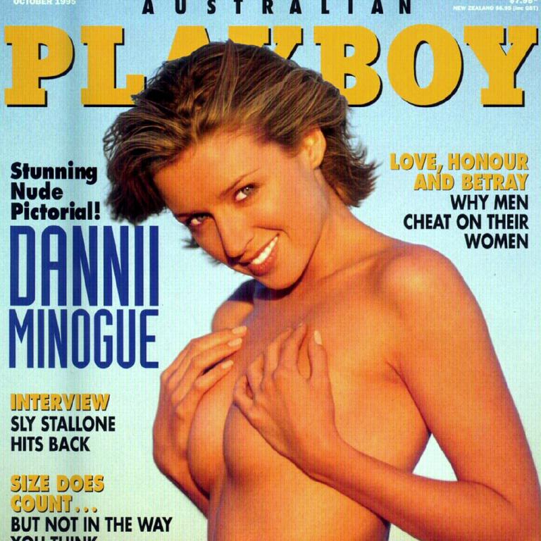 Dannii needed the money Playboy offered - but she also loved the photos.