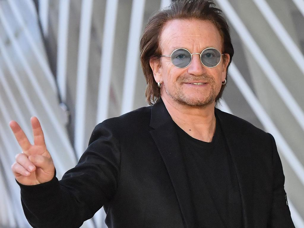 Our sympathies to Ireland, Bono. Picture: Emmanuel Dunand/AFP