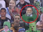 Fans paid for serial killer Harold Shipman to be on one of the fans in the stands