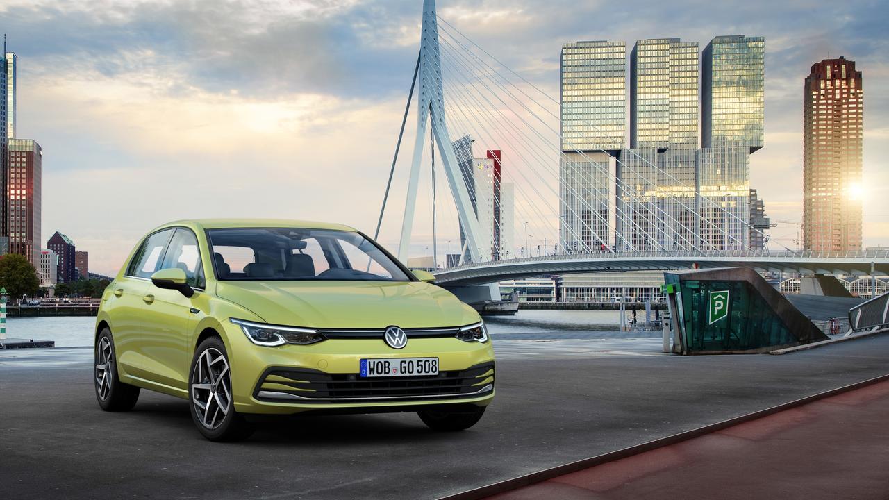 Volkswagen's new-look Golf 8 goes on sale in 2020.