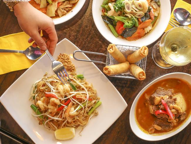 12/27Good Thai food With the exception of Thailand, finding a good and authentic Thai restaurant in a city overseas is a challenge. Especially when you know there's the world's best Pad Thai waiting for you back home.