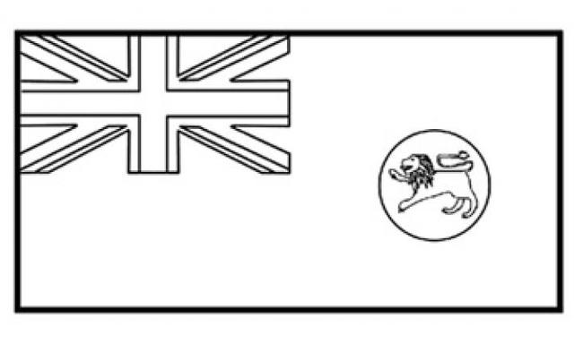Australian Flag coloring page | Free Printable Coloring Pages | 384x640